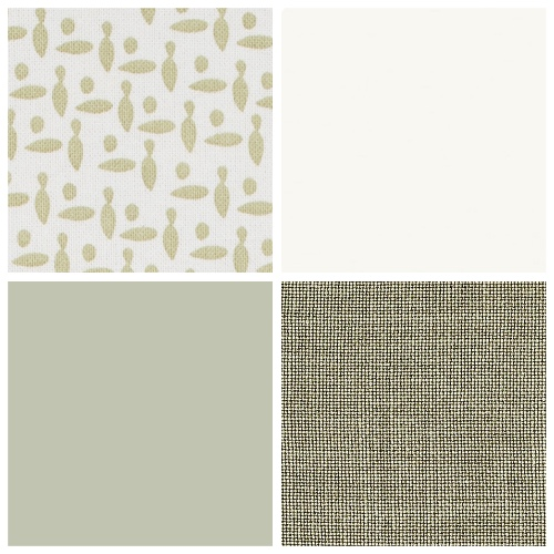 Sage Green fabrics from Neptune Home