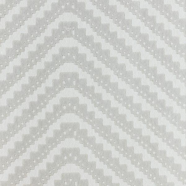 Barneby Gates Chevron grey wallpaper
