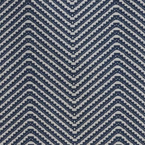 Barneby Gates Chevron ink blue wallpaper