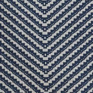 Barneby Gates Chevron ink blue wallpaper