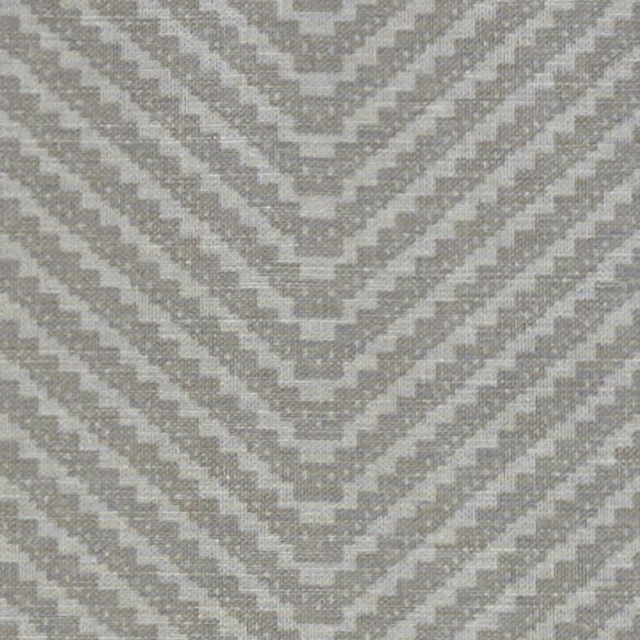 Barneby Gates Chevron grey fabric close up