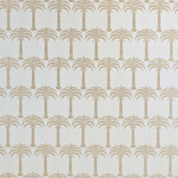 Barneby Gates Marrakech Palm soft gold wallpaper