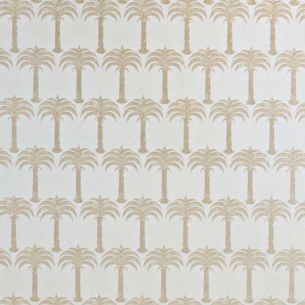 Barneby Gates Marrakech Palm soft gold wallpaper