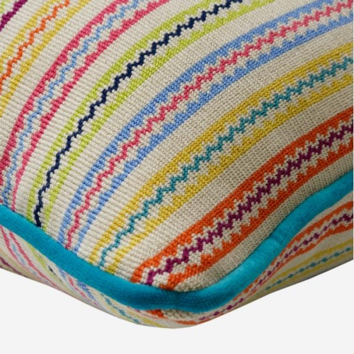 Andrew Martin stripe cushion