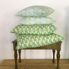 Clover and Fern cushions Molly Mahon
