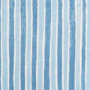 Molly Mahon Fabric Stripe Blue