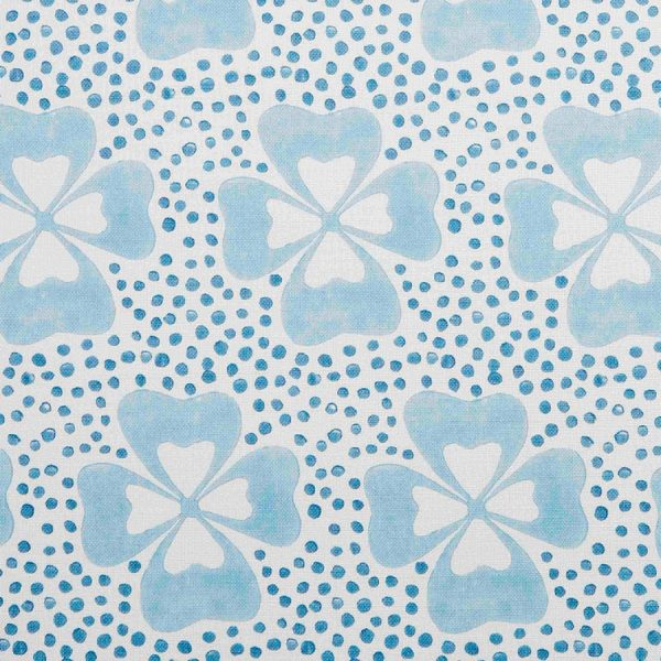 Molly Mahon Clover Blue girls room fabric