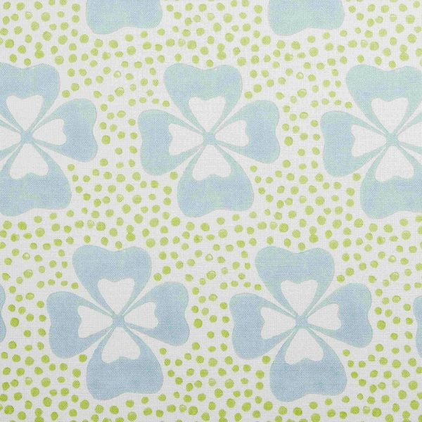 Molly Mahon Clover Duck Egg beautiful fabric