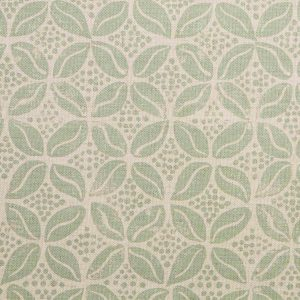 Molly Mahon Coffee Bean lichen green fabric