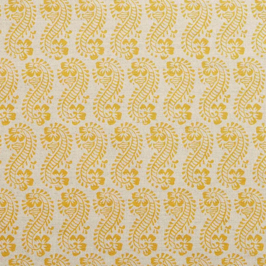 Molly Mahon Lani turmeric yellow fabric