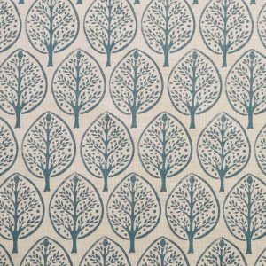 Molly Mahon Mini Burchetts fabric petrol blue