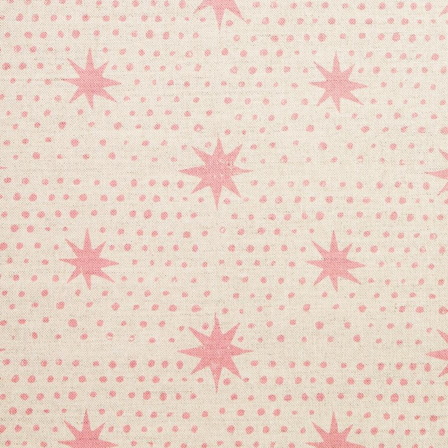 Molly Mahon Fabric Spot & Star Rose