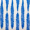 Molly Mahon Fern Denim blue wallpaper