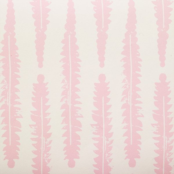 Molly Mahon Fern Pink wallpaper