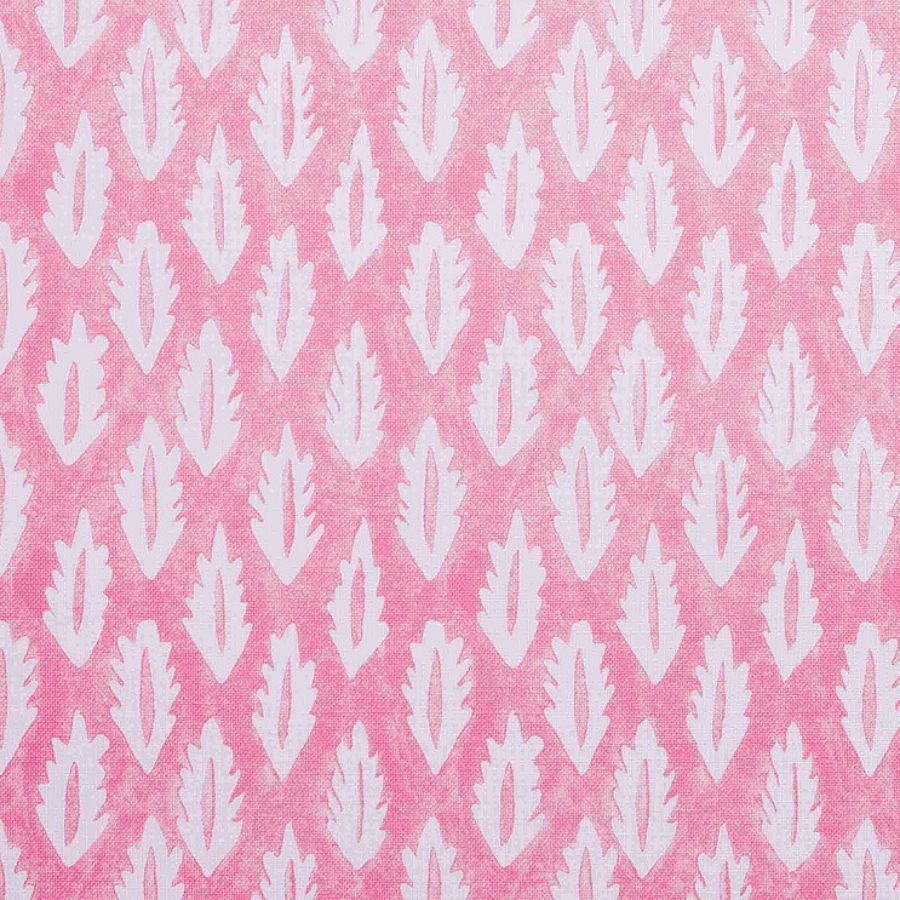 Molly Mahon Forest Pink hand blocked fabric