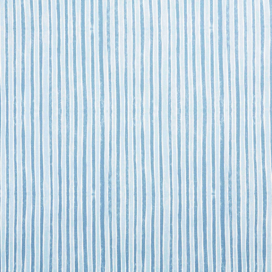 Molly Mahon Stripe Blue stripe fabric