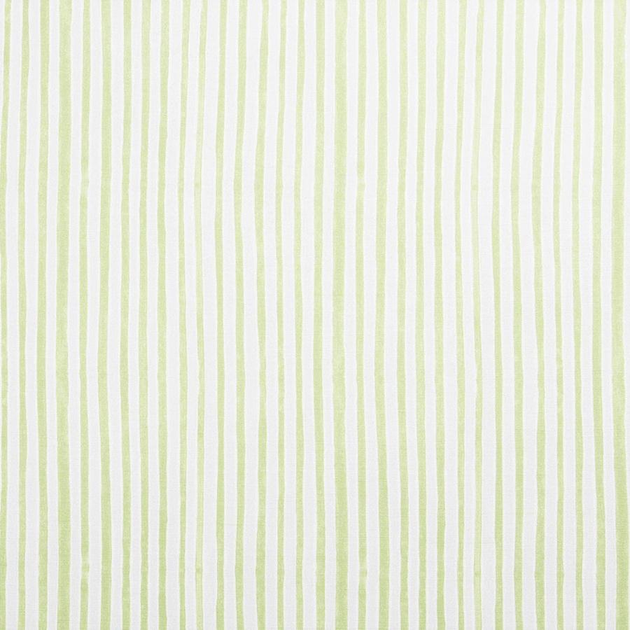 Molly Mahon Stripe Green striped fabric