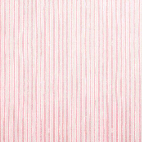 Molly Mahon Stripe Pink striped fabric