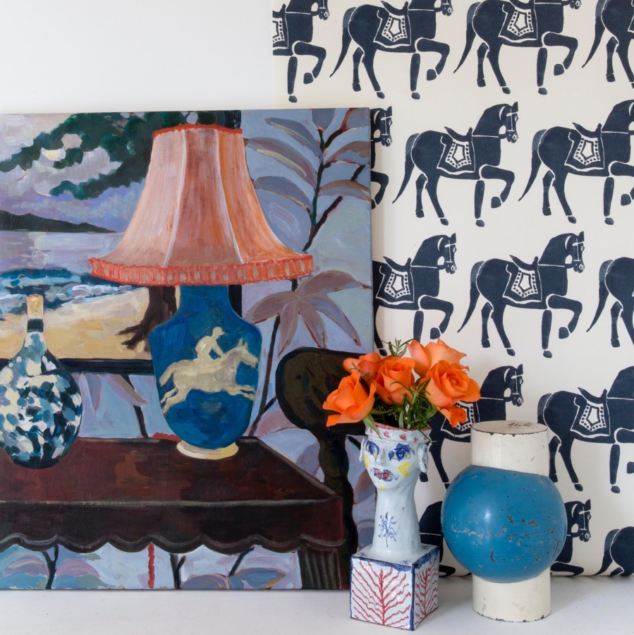 Marwari Horse Wallpaper By Molly Mahon Patternspy