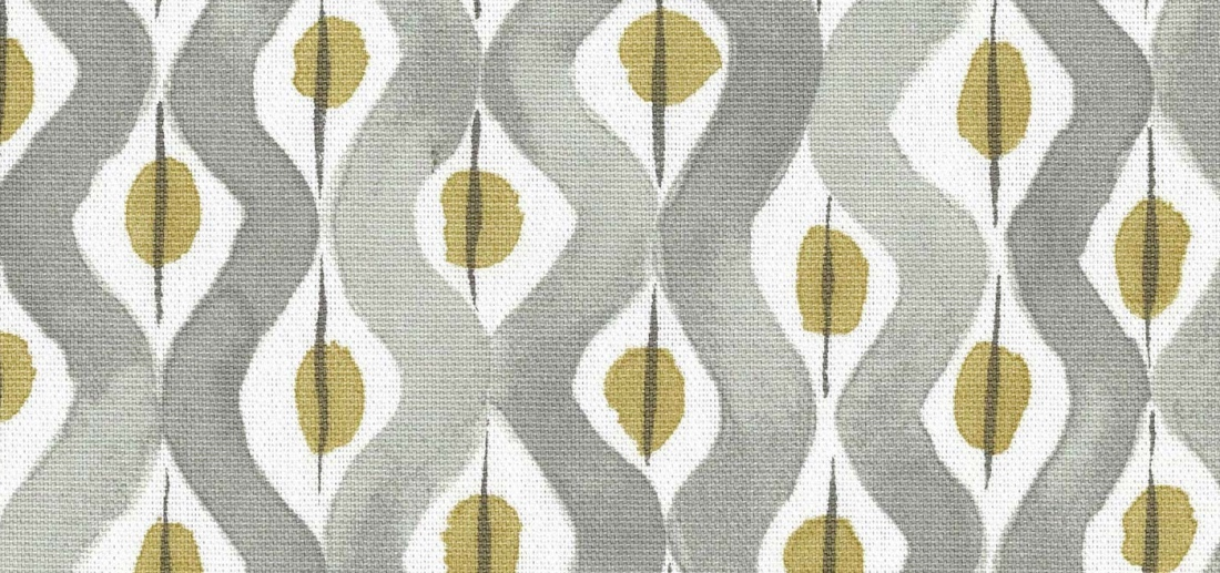 Nina Campbell Beau Rivage printed linen curtains