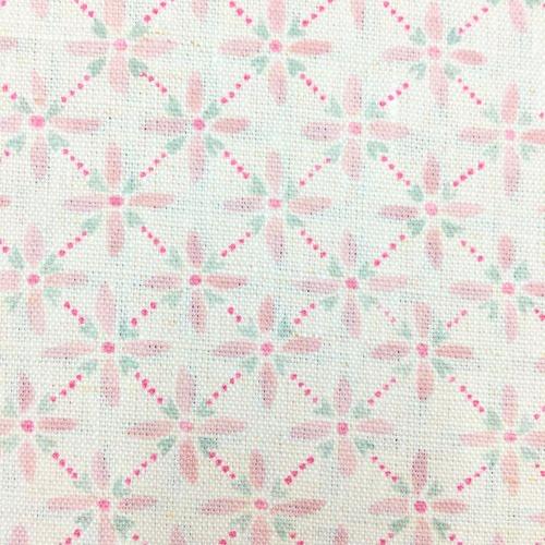 Sarah Hardaker Zia Shell pink geometric fabric