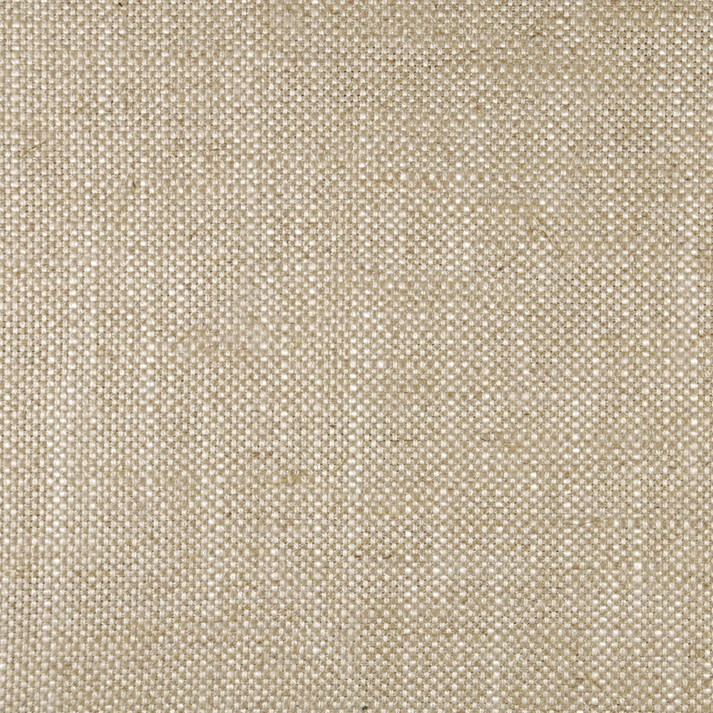 Ian Mankin Newbury Hopsack Suede beige linen fabric