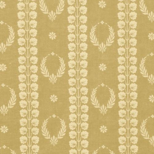 Inchyra Couronne Mustard Aged vintage linen