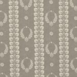 Inchyra Couronne Smoke Grey Aged vintage linen
