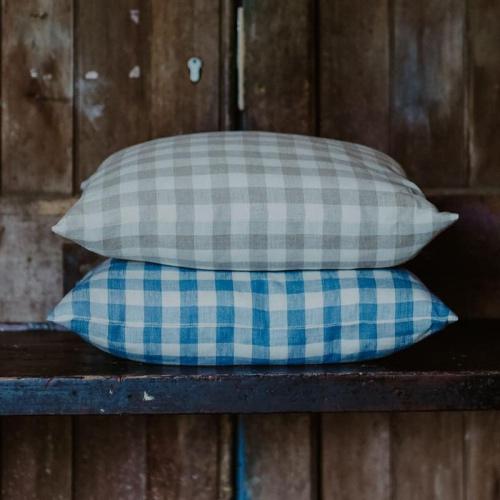 Inchyra Vintage Check linen
