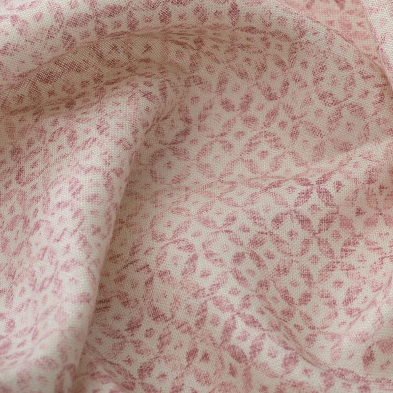 Inchyra Dedalo Raspberry pink vintage linen