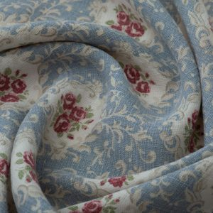 Inchyra Posy Old Blue Aged Linen