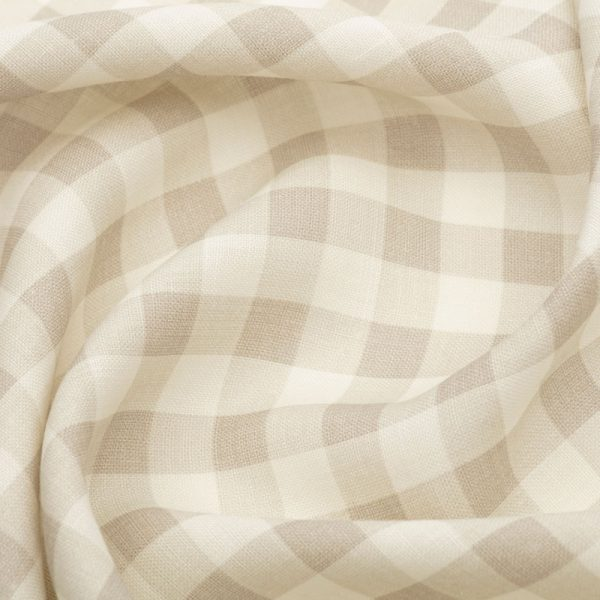 Inchyra Vintage Check Linen Natural