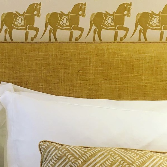 Marwari Horse Wallpaper By Molly Mahon Gold Patternspy Shop