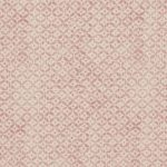Inchyra Dedalo Raspberry pink linen fabric small pattern