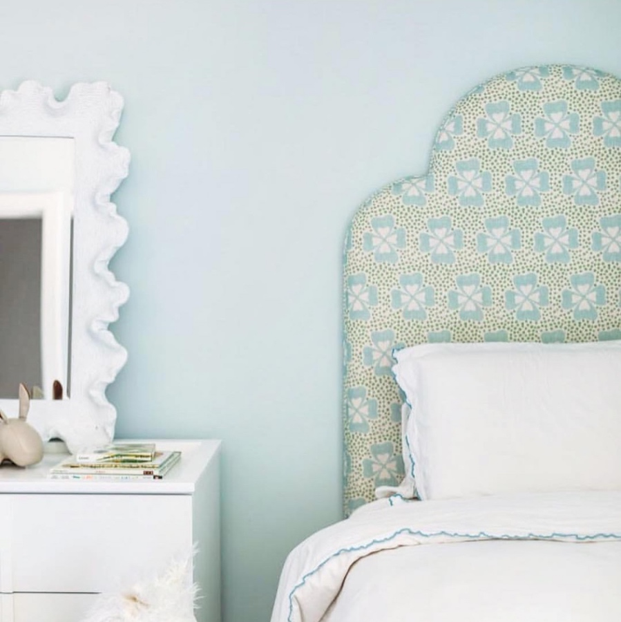 Best headboard fabrics Clover Molly Mahon
