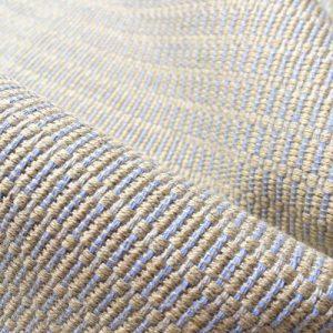 Ian Mankin Gloucester Sky weave zero waste fabric