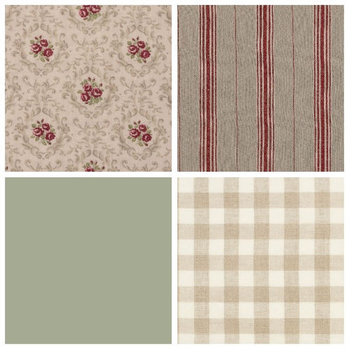 country house fabrics decorating ideas