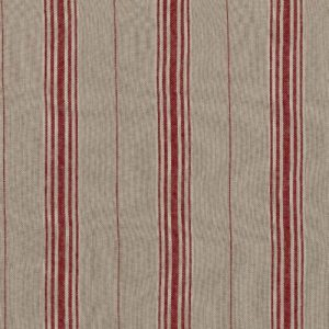 Inchyra Woven Ticking Cardinal