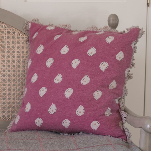 Susie Watson Designs MikaSail Red cushion