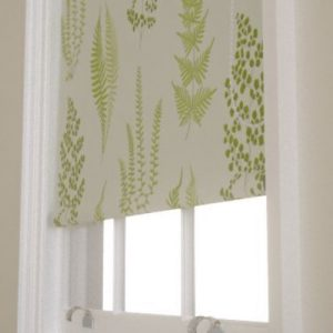 Sanderson Angel Ferns roller blind