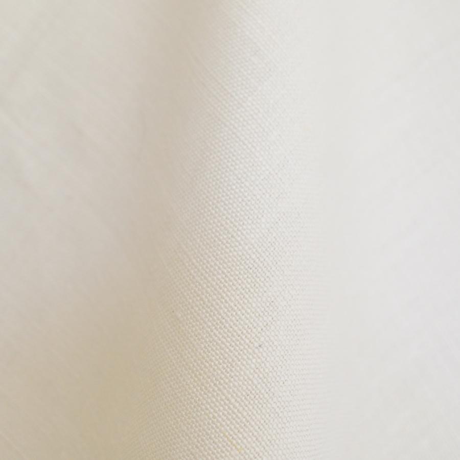 Perfect Plain white Linen fabric