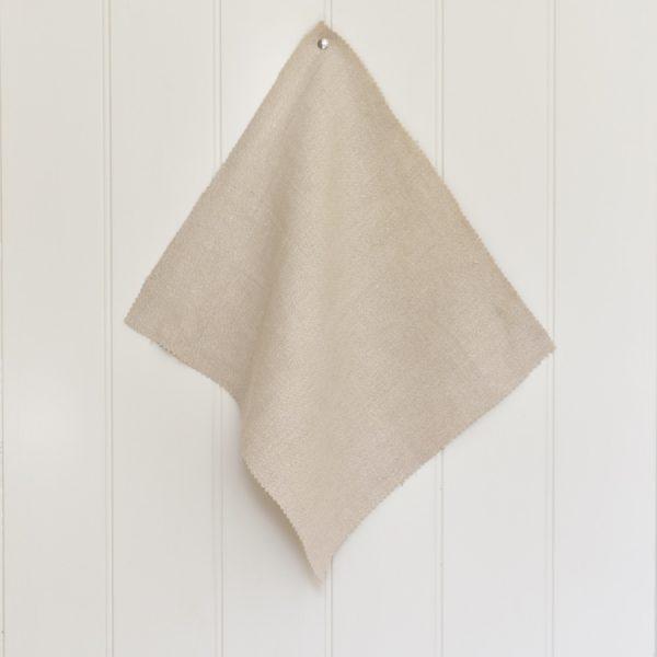 PatternSpy Limestone Perfect Plain Natural coloured Linen