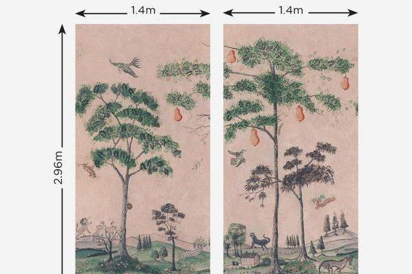 Andrew Martin Mythical Land mural wallpaper