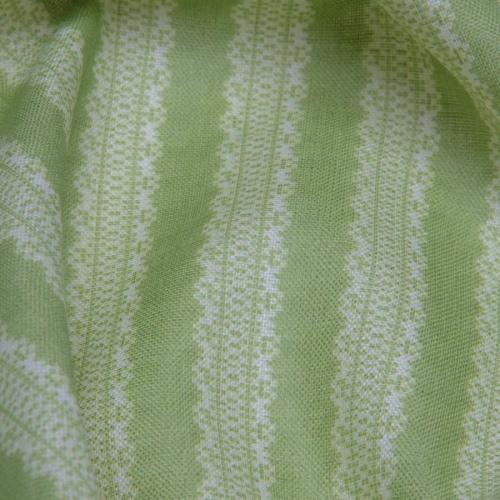 Inchyra Torchon Stripe Linen Awe Green