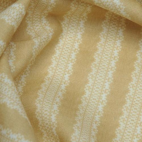 Inchyra Torchon Stripe Linen Mustard