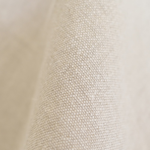 Natural linen fabric for upholstery and curtains