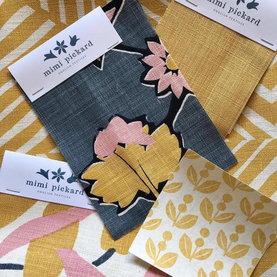 Mimi Pickard fabrics and wallpapers