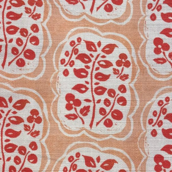 Anna Jeffreys Helene Coral fabric
