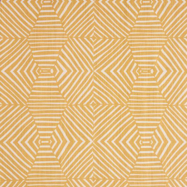 Mimi Pickard Bell Ochre fabric