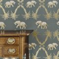 Barneby Gates elephant wallpaper